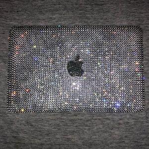 macbook air 11 inch rhinestone cover